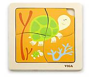 Пазл Viga Toys «Черепашки», 50143, фото