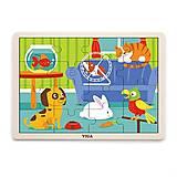 Пазл Viga Toys «Домашние животные», 51453, отзывы