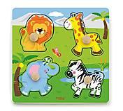 Пазл Viga Toys «Дикие животные», 50840, фото