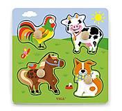 Пазл Viga Toys «Ферма», 50839