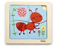 Пазл Viga Toys «Муравей», 50139