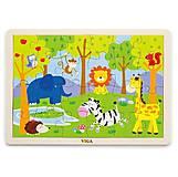 Пазл Viga Toys «Сафари», 50198, отзывы