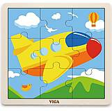 Пазл Viga Toys «Самолет», 51447, фото
