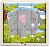 Пазл Viga Toys «Слон», 51441, купить