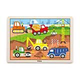 Пазл Viga Toys «Строительная техника», 51463, купить