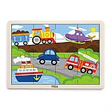Пазл Viga Toys «Транспорт», 51456, купить