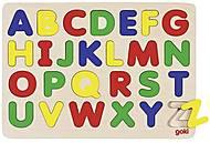 Пазл-вкладыш goki «Английский алфавит», GK601G, купить
