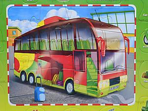 Пазлы на планшете «Автобус», 6334-5, купить