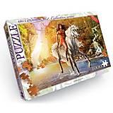 Пазлы «Охотница верхом на лошади» 1000 элементов, C1000-08-02