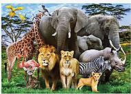 """Пазлы """"Животные"""", 1000 элементов, C1000-10-09, детские игрушки"""