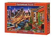 "Пазлы 1000 ""Огни Бруклинского моста"", С-104598, фото"