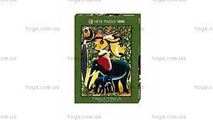 Пазл «Слоны», 1000 деталей, 29458, купить