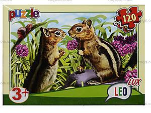 Пазл Лео Люкс «Любимые животные», 120 деталей, 351, купить