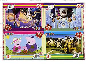 Пазл Лео Люкс «Любимые мультфильмы», 120 деталей, 352, цена