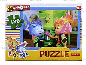 Детские пазлы «Герои мультфильмов», 120 элементов, , купить