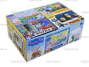 Детские пазлы «Герои мультфильмов», 120 элементов, , toys
