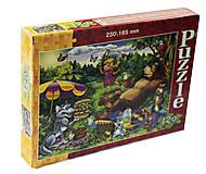 Пазлы 120 элементов «Сказочный пикник», C120-17-02, фото
