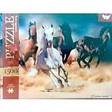 Пазлы 1500 «Красивые лошади», C1500-02-08, фото