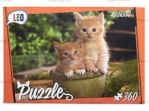 Детские пазлы «Котята», 360 элементов, 207-1, цена