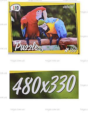 Детские пазлы «Попугаи», 360 элементов, 207-12