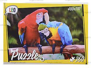 Детские пазлы «Попугаи», 360 элементов, 207-12, цена