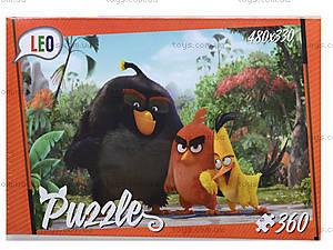 Детские пазлы «Злые птички», 360 элементов, 207-2, цена