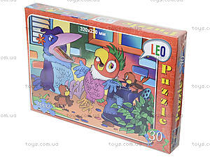 Пазлы для детей «Попугай Кеша», 30 элементов, 216-08, купить
