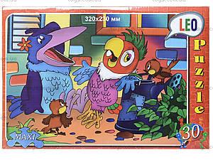 Пазлы для детей «Попугай Кеша», 30 элементов, 216-08, фото
