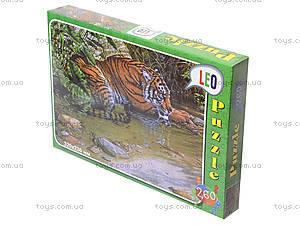 Пазлы детские «Тигр», 260 элементов, 219-5, купить