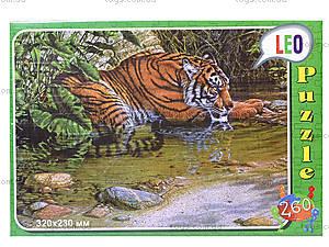 Пазлы детские «Тигр», 260 элементов, 219-5, фото