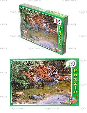 Пазлы детские «Тигр», 260 элементов, 219-5