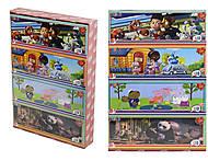 Детские пазлы с мультипликационными героями, 211