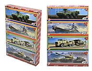 Детские пазлы серии «Военная техника», 209