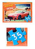 Мягкие пазлы «Машина», 35 деталей, 232-16, купить