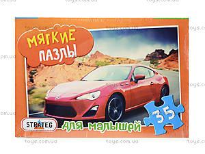 Мягкие пазлы «Машина», 35 деталей, 232-16, фото