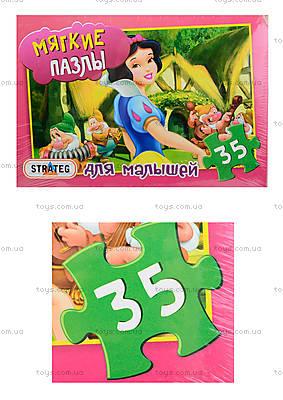Мягкие пазлы для малышей «Белоснежка», 35 деталей, 232-2