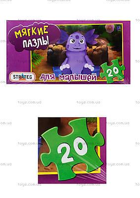 Детские мягкие-пазлы «Лунтик», 255-14