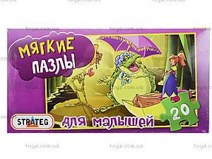 Мягкие пазлы «Дюймовочка», 20 деталей, 255-15, купить