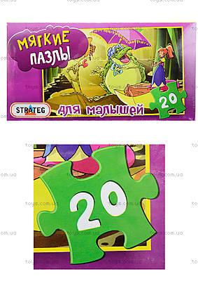 Мягкие пазлы «Дюймовочка», 20 деталей, 255-15