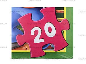 Мягкие пазлы «Колобок», 20 деталей, 255-2, фото