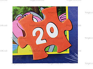 Мягкие пазлы «Даша Путешественица», 20 деталей, 255-7, фото
