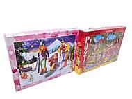 Детские мультипликационные пазлы, 260пок, фото