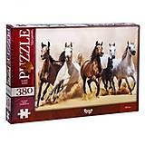 Пазлы «Лошади» 380 элементов, C380-04-05, купить