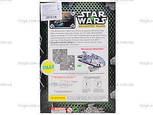 Металлический 3D пазл Star Wars, 626629633, фото