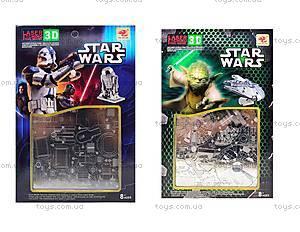 Металлический 3D пазл Star Wars, 626629633