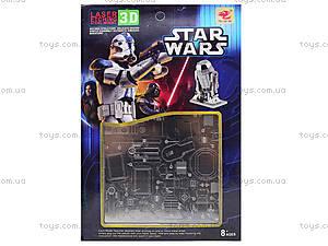 Металлический 3D пазл Star Wars, 626629633, отзывы