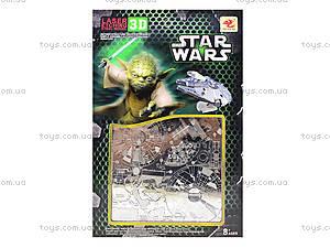 Металлический 3D пазл Star Wars, 626629633, цена