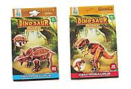 Пазлы 3d «Dino» коричневый, R129, фото