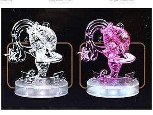 Кристаллический пазл «Зодиак Водолей», 9049, фото