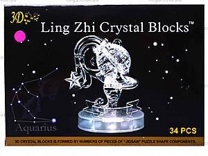 Кристаллический пазл «Зодиак Водолей», 9049, цена